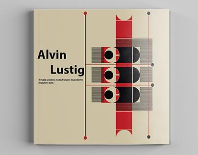 Alvin Lustig  : layout design