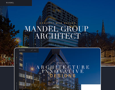 Mandel Group Architecture Web Design