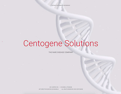 Centogene Solutions Website