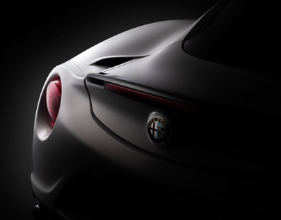 Alfa Romeo 4C (Personal project)