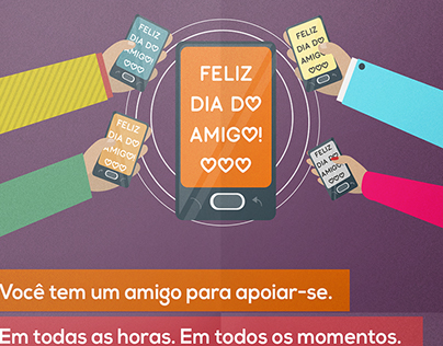 CAMPANHA ENDOMARKETING | Dia do Amigo