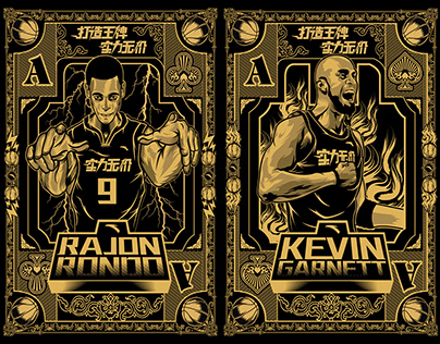 ANTA Basketball Pokers Design
