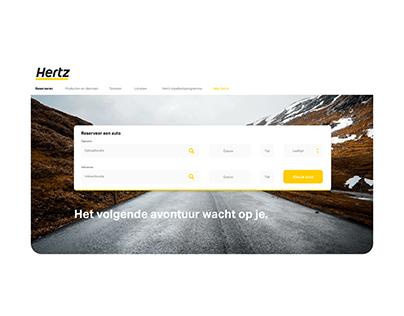 Hertz UX/UI Redesign