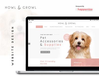 Howl & Crowl - Website Design