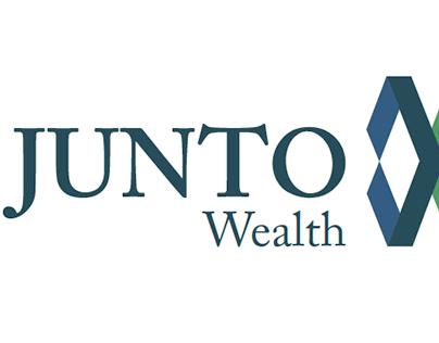 Junto Wealth Logo Design