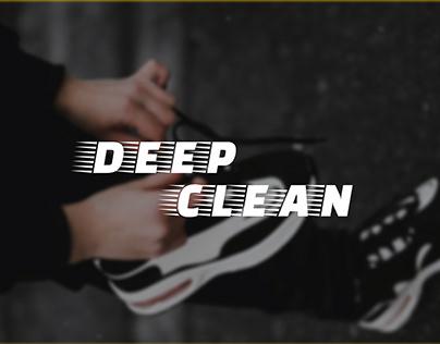 Landing page for DeepClean