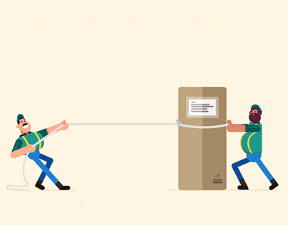 GIF animation: Force and Law of Motion