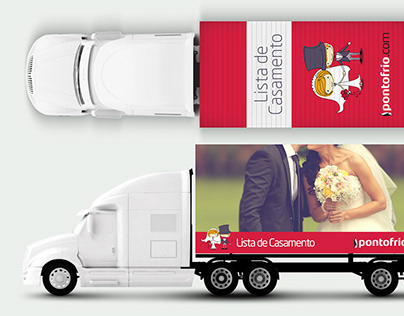 Envelopamento Caminhão Pontofrio.com