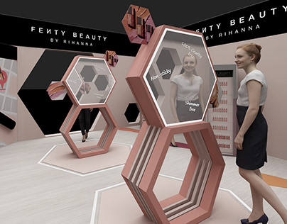 Fenty Beauty // Pop up store