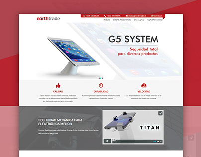 Northtrade Website Design and Code