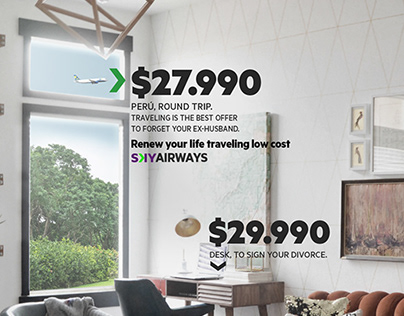 Sky - Renew your life traveling low cost