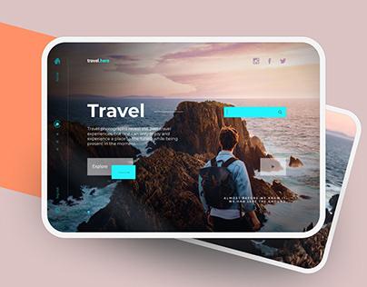 Travel App | UX UI Design