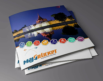 Majorticket Company Profile Design