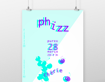 PHIZZ dj // poster and cover photo