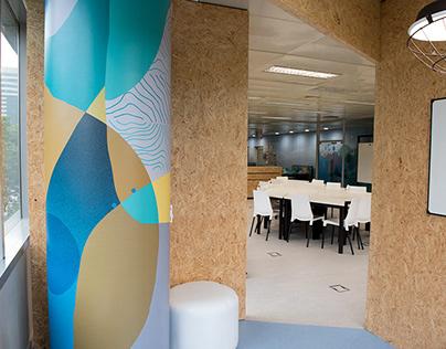 Pattern artwall office