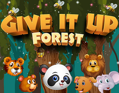 Give It Up Forest - Tower Jump Game