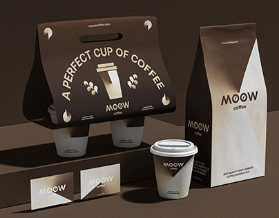 MOOW COFFEE- BRANDING