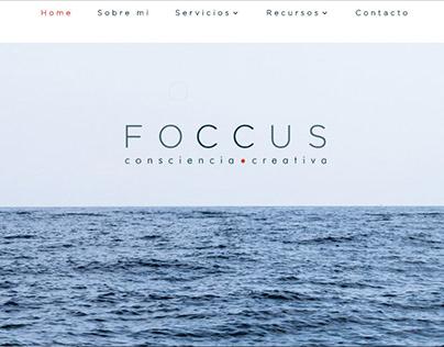 Web para el proyecto FOCCUS.