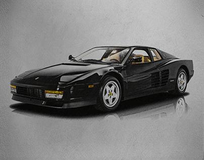 Ferrari Testarossa | Drawing