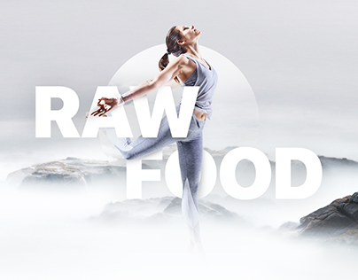 Raw food / Website Concept