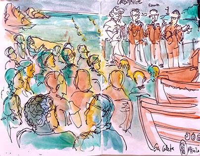Sa Caleta in Lloret de Mar. Havaneres 2017