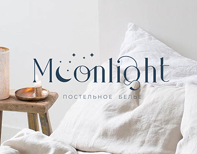 Moonlight branding | Linen Bedding