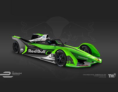 RedBull Formula E Livery concept
