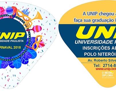 Ventarola Promocional UNIP-Grafitinho