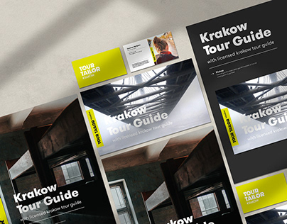 Tour Tailor | City guide branding