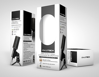 Microphone package design