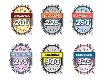 Design of badges