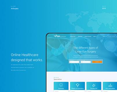 Online Healthcare designed that works