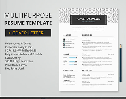 MultipurposeResume Template