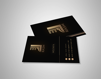RASM STUDIO BUSINESS CARD DESIGN
