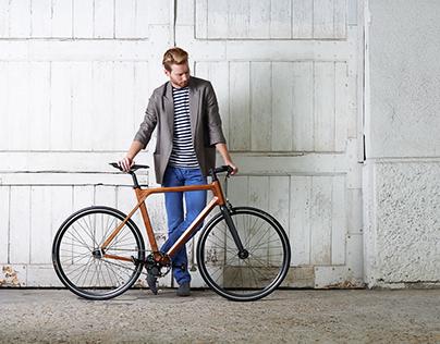 Imagine - Wood Bike Design