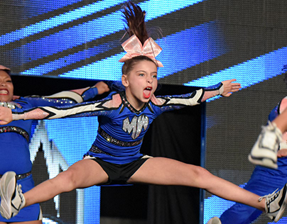Indoor Sports/Fitness: Cheerleading Competition