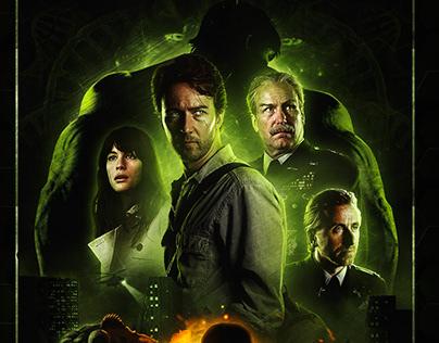 The Incredible Hulk Custom Poster