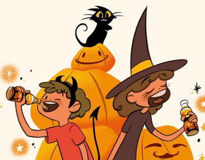 Halloween. Illustration.