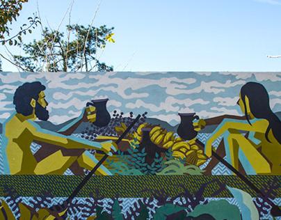 Mural Los tesoros