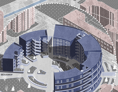 Commercial and Residential Complex _ Arch302