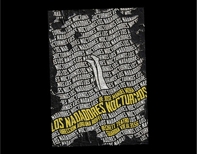 Poster, Nadadores Nocturnos
