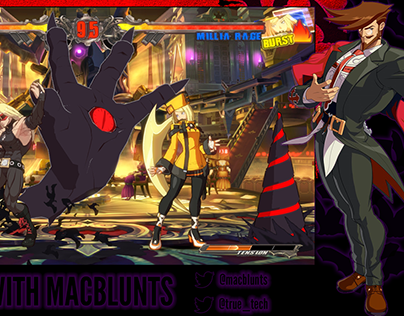 Macblunts FT3 Kumite Overlay