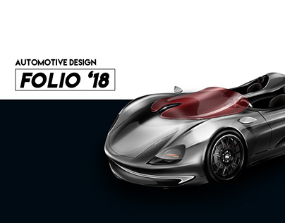 2018 Automotive design portfolio