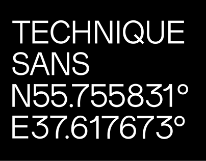 Technique Font