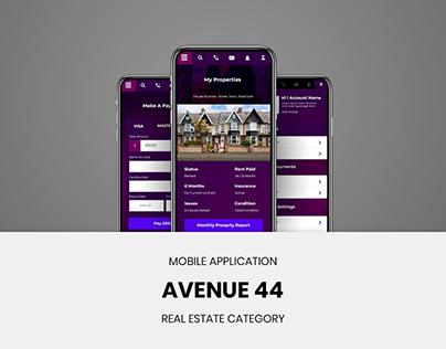 UI/UX For Avenue 44