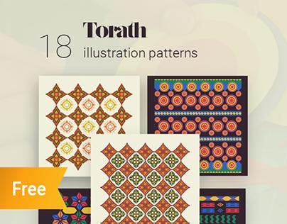 Torath, Arabic patterns in illustration and crafts