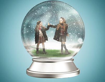 Snow Glass Ball