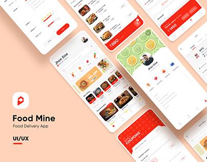 Food Delivery App (UI Design)