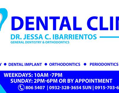 Dental Clinic Signage Studies