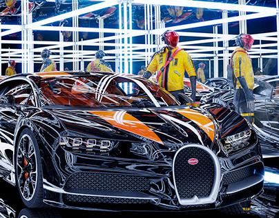 Bugatti Infinity Garage (CGI)